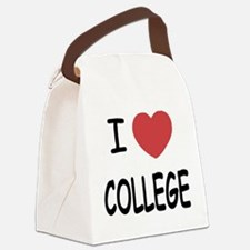 COLLEGE.png Canvas Lunch Bag