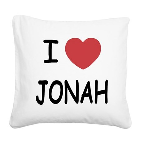 JONAH.png Square Canvas Pillow