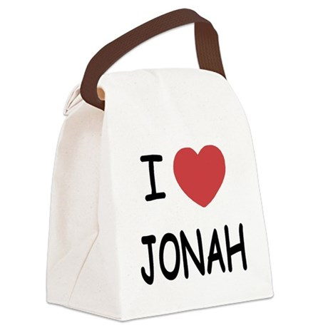 JONAH.png Canvas Lunch Bag