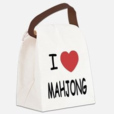 MAHJONG.png Canvas Lunch Bag
