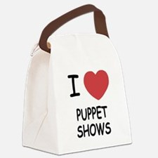 PUPPET_SHOWS.png Canvas Lunch Bag