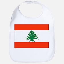 Lebanon Flag Bib