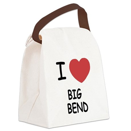 BIG_BEND.png Canvas Lunch Bag