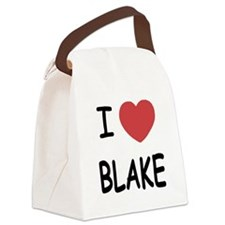 BLAKE.png Canvas Lunch Bag