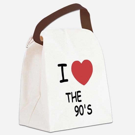 THE_90S.png Canvas Lunch Bag