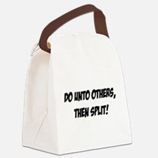 do_unto_others.png Canvas Lunch Bag