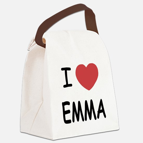 EMMA.png Canvas Lunch Bag