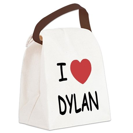 DYLAN.png Canvas Lunch Bag