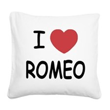 ROMEO.png Square Canvas Pillow