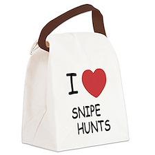SNIPE_HUNTS.png Canvas Lunch Bag