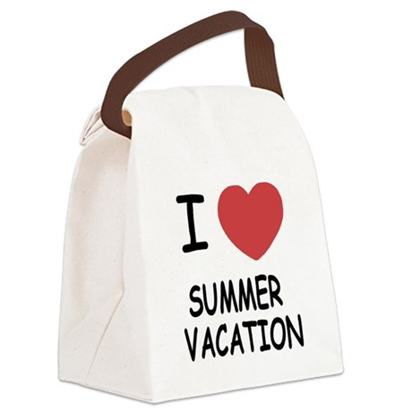 SUMMER_VACATION.png Canvas Lunch Bag