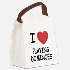 PLAYING_DOMINOES.png Canvas Lunch Bag