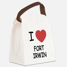 FORT_IRWIN.png Canvas Lunch Bag