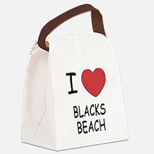 BLACKS_BEACH.png Canvas Lunch Bag