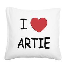 ARTIE.png Square Canvas Pillow