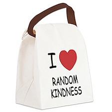 RANDOMKINDNESS.png Canvas Lunch Bag