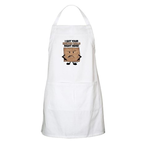 i got your matzah balls right apron - Cooking Aprons