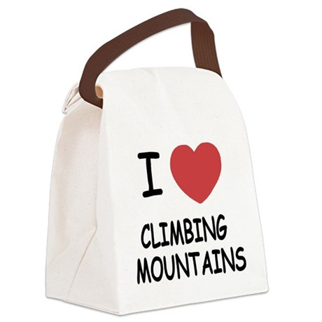 CLIMBING_MOUNTAINS.png Canvas Lunch Bag