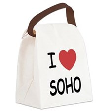 SOHO.png Canvas Lunch Bag