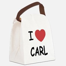 CARL.png Canvas Lunch Bag