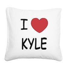 KYLE.png Square Canvas Pillow