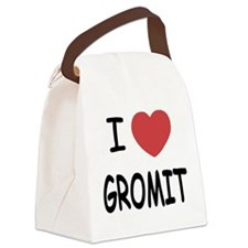 GROMIT.png Canvas Lunch Bag