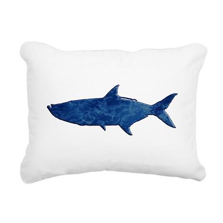 Tarpon Rectangular Canvas Pillow