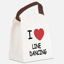 LINEDANCING.png Canvas Lunch Bag