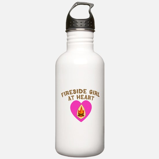 Fireside Girl at Heart.png Water Bottle