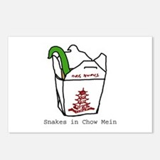Snakes in Chow Mein Postcards (Package of 8)