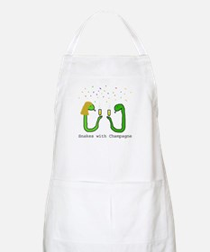 Snakes with Champagne BBQ Apron
