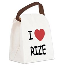 RIZE.png Canvas Lunch Bag