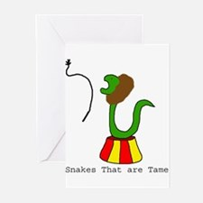 Snakes that are Tame Greeting Cards (Pk of 10)