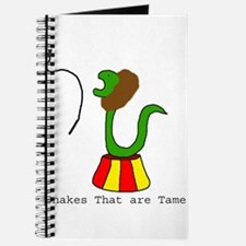 Snakes that are Tame Journal