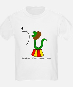 Snakes that are Tame Kids T-Shirt