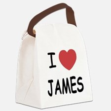 JAMES.png Canvas Lunch Bag