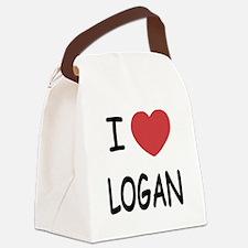 LOGAN.png Canvas Lunch Bag