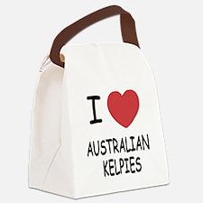 AUSTRALIANKELPIES.png Canvas Lunch Bag