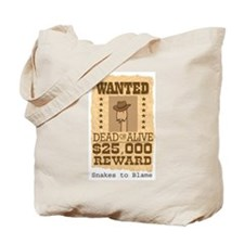 Snakes to Blame Tote Bag