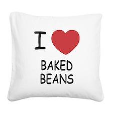 BAKEDBEANS.png Square Canvas Pillow