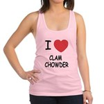 CLAMCHOWDER.png Racerback Tank Top
