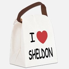 SHELDON.png Canvas Lunch Bag