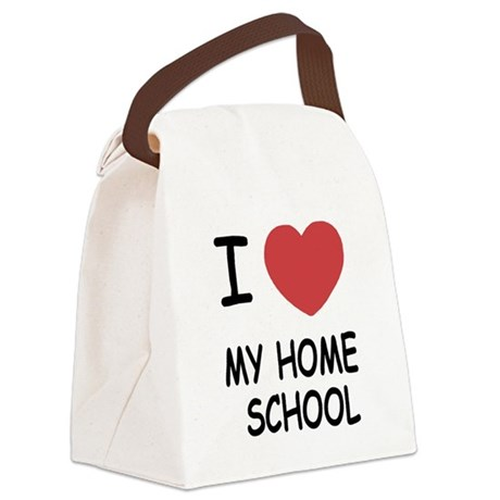 MYHOMESCHOOL.png Canvas Lunch Bag