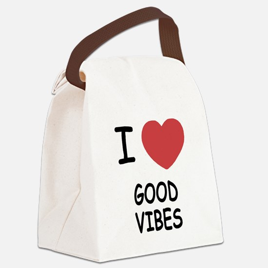 GOODVIBES.png Canvas Lunch Bag