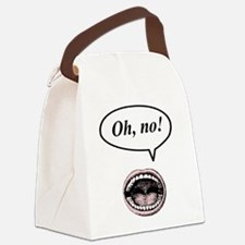 oh no.png Canvas Lunch Bag