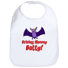 Driving Mommy Batty Bib