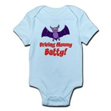 Driving Mommy Batty Infant Bodysuit