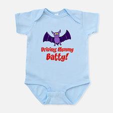Driving Mommy Batty Infant Bodysuit