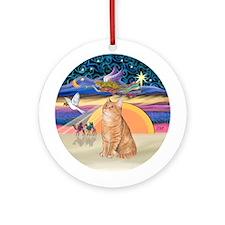 Christmas Angel - Orange Tabby Cat