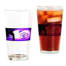 Purple Monique Drinking Glass